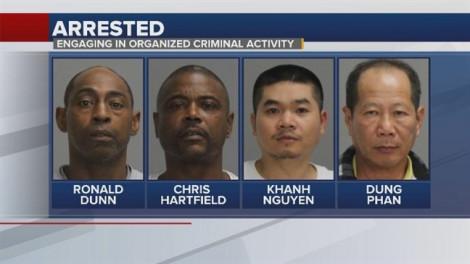 2 người gốc Việt ở Mỹ bị bắt giữ vì mở sòng bạc bất hợp pháp