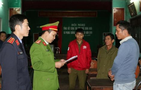 Bắt hai đối tượng tàng trữ lượng pháo lậu lớn nhất từ trước đến nay tại Quảng Bình