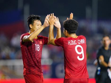 Việt Nam 4-0 Campuchia: Văn Toản từ chối bàn thắng danh dự cho Campuchia