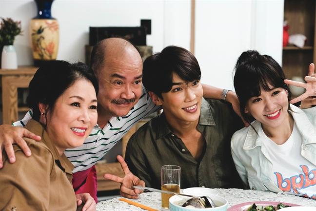 Thap thom voi phim cua Hari Won, Park Jung Min