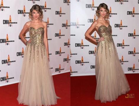 Thời trang thảm đỏ của 'Công chúa nhạc đồng quê' Taylor Swift trong 10 năm
