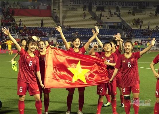 Tuyen nu Viet Nam vo dich SEA Games 30 - Su lua chon  cua cac co gai