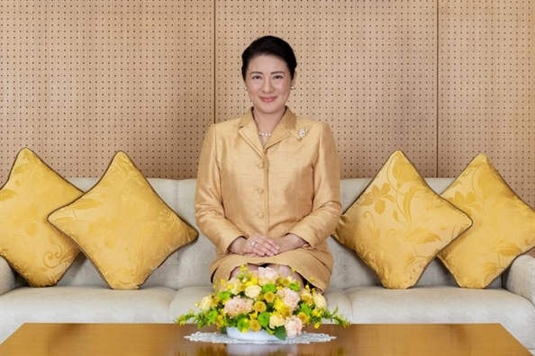 Hoang hạu Masako don sinh nhat lan thu 56