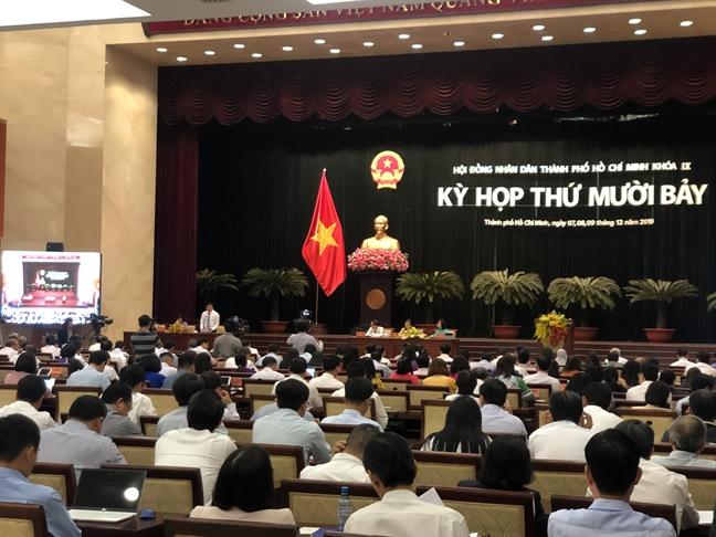 Dong gop hon 27% tong thu ngan sach, nhung TP.HCM chi duoc huong 4% tong chi ca nuoc