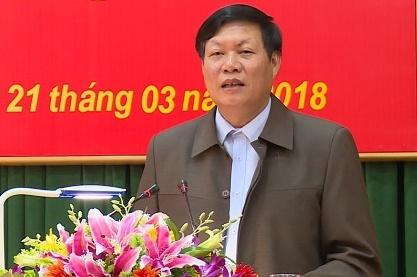 Pho Bi thu tinh Hung Yen lam Thu truong Bo Y te