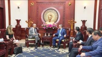 Bí thư Thành ủy TP.HCM Nguyễn Thiện Nhân tiếp cựu Tổng thống Barack Obama