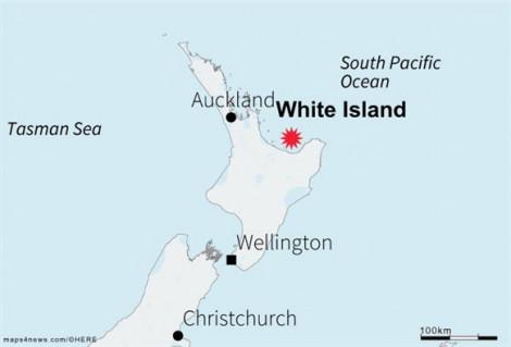 Núi lửa bất ngờ phun trào ở New Zealand làm 1 người thiệt mạng, nhiều người mất tích