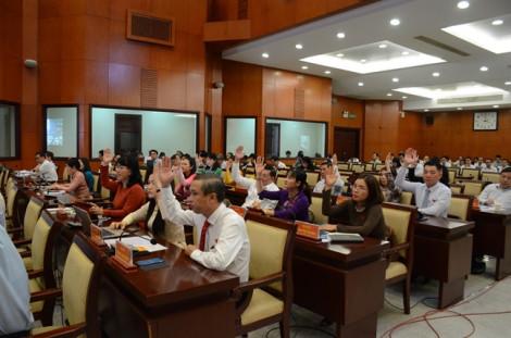 Bế mạc kỳ họp thứ 17 HĐND TP.HCM khóa IX với nhiều nghị quyết gắn liền với thực tiễn xã hội