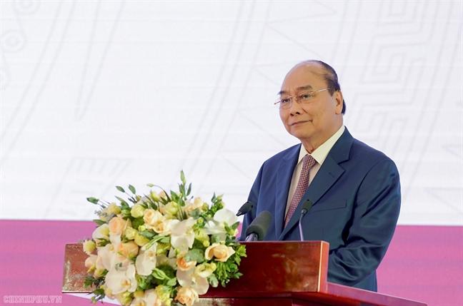 Thu tuong chuc doi bong da nam gianh Huy chuong Vang SEA Games