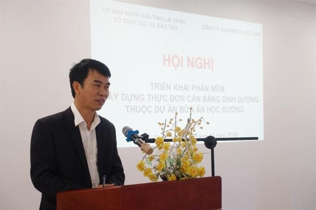 16 truong tieu hoc Lai Chau ap dung phan mem trong cong tac ban tru