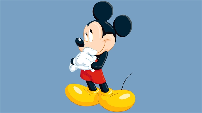 Den le hoi mua roi xem... chuot Mickey