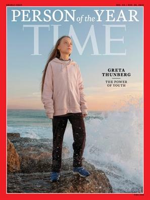 Greta Thunberg tro thanh nhan vat tieu bieu cua nam do tap chi Time binh chon