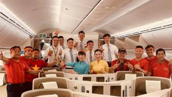 Nhiều hãng bay miễn phí cho cầu thủ và người thân sau chức vô địch SEA Games 30