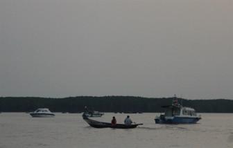 Đã tìm được thi thể một trong ba thợ lặn mất tích lúc trục vớt tàu chìm ở Cần Giờ