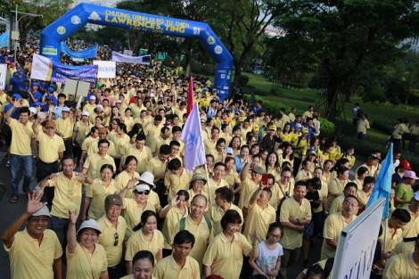 Chương trình 'Đi bộ từ thiện Lawrence S. Ting' lần thứ 15 - 2020