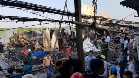 Cà Mau: Cháy lớn lúc rạng sáng, một người tử vong