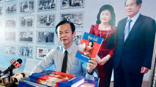 Ra mắt cuốn sách về cuộc đời phu nhân Thủ tướng Hun Sen
