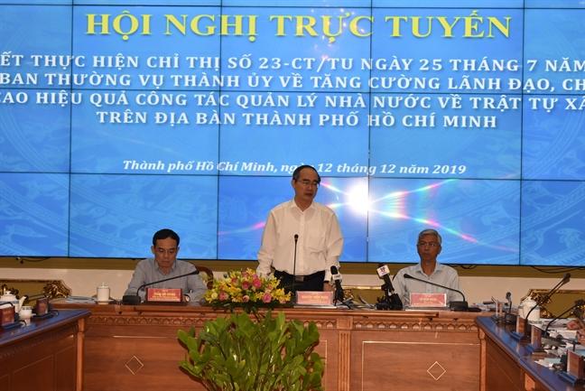 Pho chu tich UBND TP.HCM Vo Van Hoan: 'Tran nay 'danh' cho bang duoc cac to chuc vi pham trat tu xay dung'