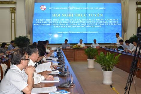Phó chủ tịch UBND TP.HCM Võ Văn Hoan: 'Trận này 'đánh' cho bằng được các tổ chức vi phạm trật tự xây dựng'