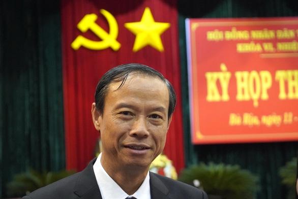 Ong Nguyen Van Tho giu chuc Chu tich UBND tinh Ba Ria - Vung Tau