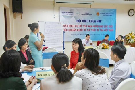 Hỗ trợ nạn nhân bạo lực giới: Ai, ở đâu?