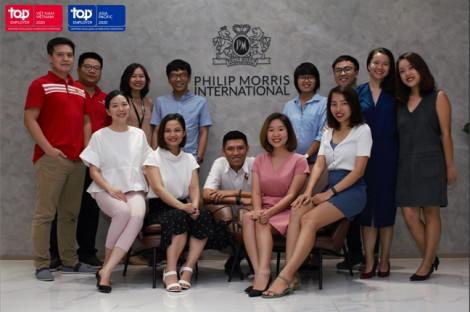 Tập đoàn Philip Morris International (PMI) liên tiếp đạt danh hiệu 'Nhà tuyển dụng hàng đầu toàn cầu'