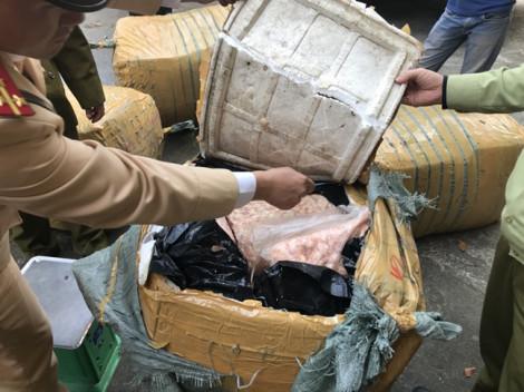 Phát hiện 1 tấn sụn gà không rõ nguồn gốc chuẩn bị đem tiêu thụ