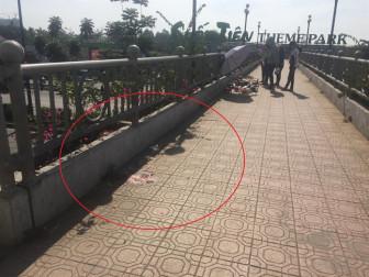 Nữ sinh viên đột ngột ngã lăn, tử vong bất thường trên cầu bộ hành Suối Tiên