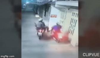 Cướp táo tợn xịt hơi cay tấn công, cướp tài sản người dân giữa trung tâm thành phố