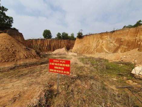 Đã tìm ra kẻ chôn trộm chất thải nguy hại gần nguồn nước ở Sóc Sơn