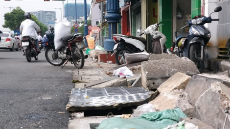 TP.HCM ngừng thi công các công trình đào đường dịp Tết Dương lịch