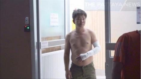 4 người Việt bán hàng rong 'đấu dao' ở Pattaya
