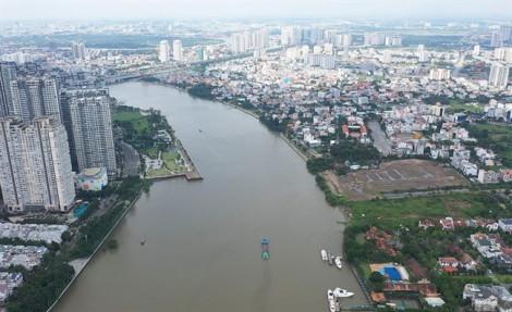 TPHCM kiểm tra 101 dự án bất động sản dọc bờ sông Sài Gòn
