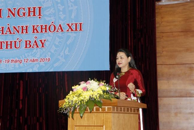 Khai mac Hoi nghi lan thu VII Ban Chap hanh TU Hoi LHPN Viet Nam khoa XII