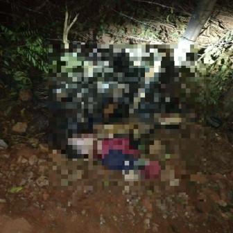 Nam thanh niên tử vong trong tình trạng cháy xém bên cạnh xe máy