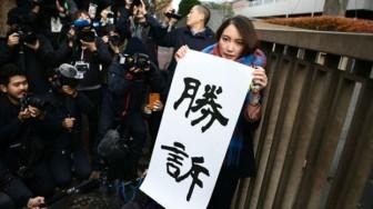 Nữ phóng viên Nhật Bản thắng kiện trong vụ án hiếp dâm