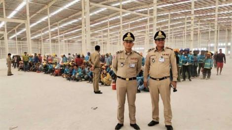 Campuchia bắt 154 người Trung Quốc và Việt Nam làm việc bất hợp pháp