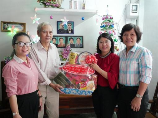 Hội LHPN TP.HCM thăm và chúc mừng Giáng sinh các cơ sở tôn giáo