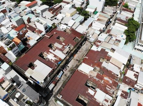Sẽ xây trường học thay 'chung cư chờ sập'  119B Tân Hòa Đông