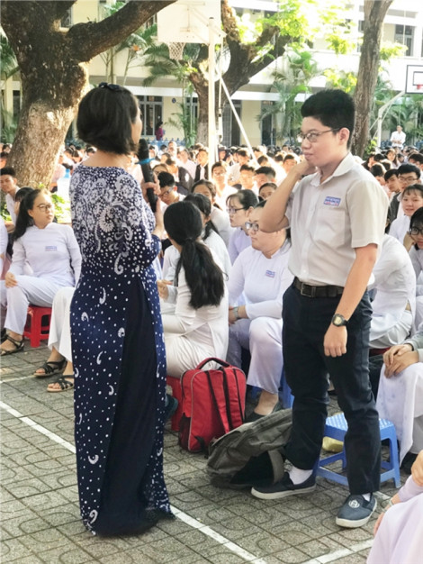 Không tìm ra người sửa điểm tại Trường THPT Nguyễn Công Trứ, kết luận cho xong?