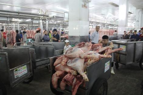 TPHCM khuyến khích người dân ăn thịt heo đông lạnh, rau củ quả vào dịp Tết