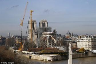 Sau hơn hai thế kỷ, lần đầu tiên Nhà thờ Đức Bà Paris lỡ hẹn với Giáng sinh
