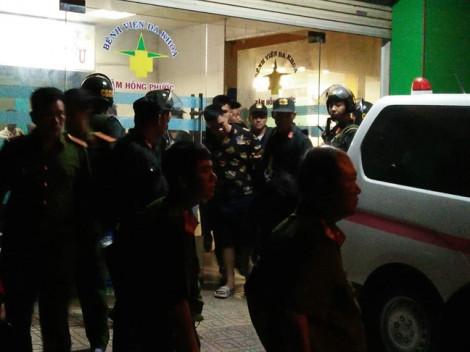 Cảnh sát Đồng Nai vây ráp một bệnh viện ở Biên Hòa để giải cứu giám đốc bị khống chế