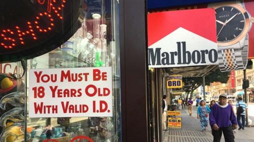Mỹ: Trước 18 tuổi, nay 21 tuổi mới được mua thuốc lá!