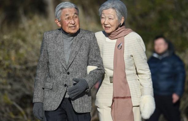 Cuu hoang Akihito don sinh nhat lan thu 86