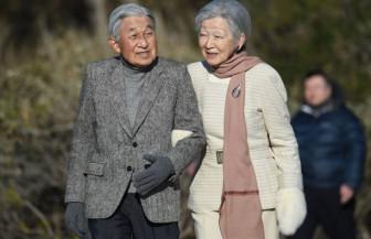 Cựu hoàng Akihito đón sinh nhật lần thứ 86