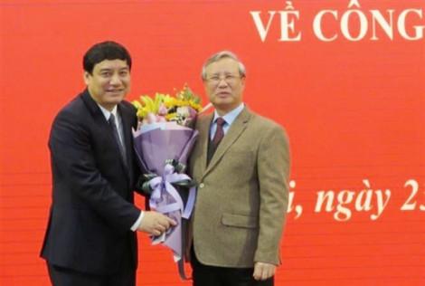 Nhân sự cấp cao: Bí thư Nghệ An làm Phó chánh văn phòng Trung ương Đảng