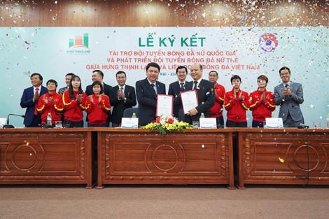 Đội tuyển bóng đá nữ Việt Nam nhận tài trợ 100 tỉ đồng