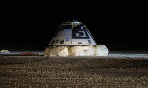 Tàu vũ trụ Starliner của Boeing hạ cánh an toàn sau nhiệm vụ thất bại