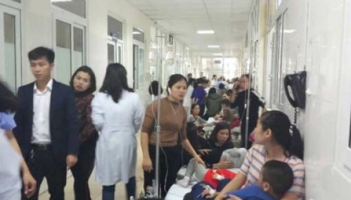 Sau bữa trưa, gần 100 trẻ mầm non nhập viện cấp cứu